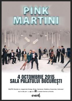 Concert Pink Martini & China Forbes Sala Palatului din Bucureşti