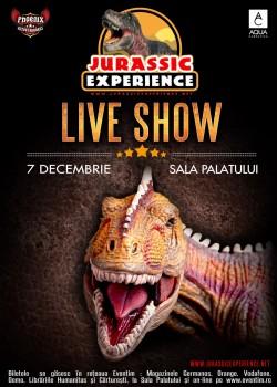Jurassic Experience la Sala Palatului din Bucureşti