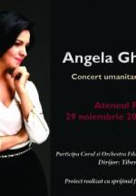 Concert Angela Gheorghiu – în sprijinul victimelor #Colectiv, la Ateneul Român din Bucureşti