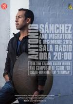 Concert Antonio Sanchez & Migration la Sala Radio din Bucureşti