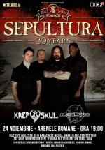 Concert Sepultura la Arenele Romane din Bucureşti