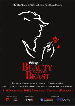 Disney Beauty and The Beast la Romexpo din Bucureşti