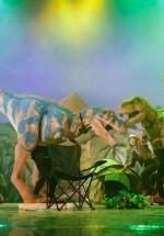 FOTO: Jurassic Experience la Sala Palatului din Bucureşti