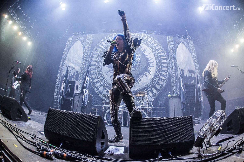 Arch Enemy în concert la Bucureşti - Foto: Paul Voicu / iConcert.ro