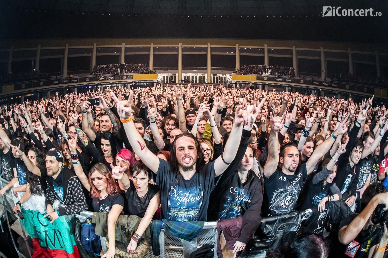 Fanii prezenţi la concertul Nightwish de la Bucureşti - Foto: Paul Voicu / iConcert.ro