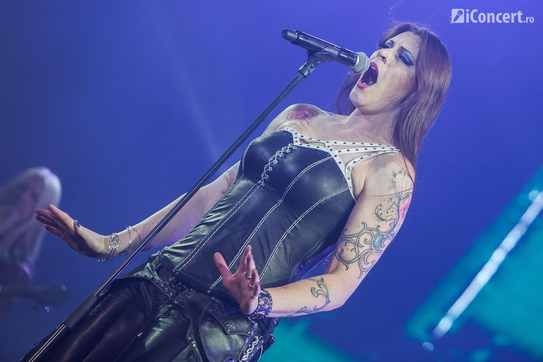 Floor, noua solistă a trupei Nightwish - Foto: Paul Voicu / iConcert.ro
