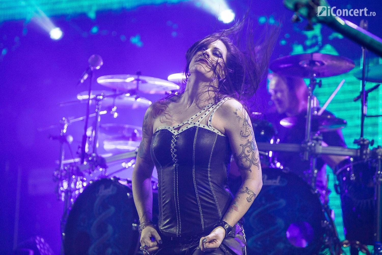 Nightwish în concert la Bucureşti - Foto: Paul Voicu / iConcert.ro