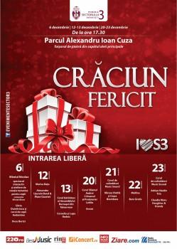 Concerte de Crăciun 2015 în Parcul Alexandru Ioan Cuza din Bucureşti