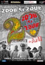Concert Zdob şi Zdub – 20 de ani, la Arenele Romane din Bucureşti