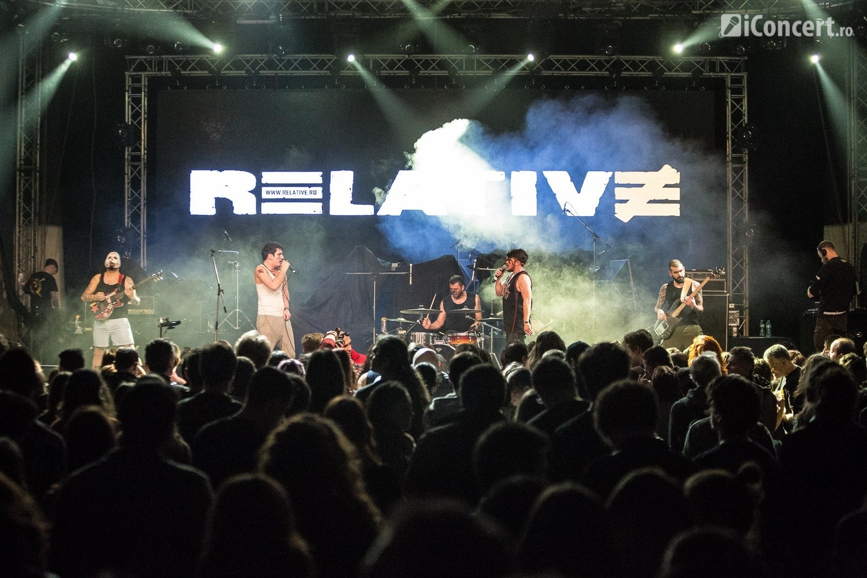 Relative, în deschierea concertului Viţa de Vie, de la Arenele Romane - Foto: Paul Voicu / iConcert.ro