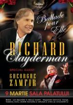 """Concert Richard Clayderman – """"Ballade pour elle"""", la Sala Palatului din Bucureşti (CONCURS)"""