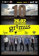 """Concert Grimus – """"10 Ani: In A Glimpse"""", la Arenele Romane din Bucureşti"""