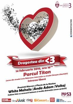 Concert Voltaj, Anda Adam, White Mahala (Dragostea din <3) în Parcul Titan din Bucureşti