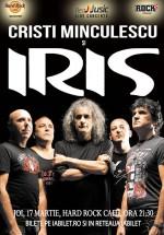 Concert Cristi Minculescu & IRIS la Hard Rock Cafe din Bucureşti