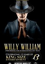 Concert Willy William în Bamboo Club din Bucureşti