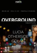 Overground Nights #3 la Fratelli Studios din Bucureşti