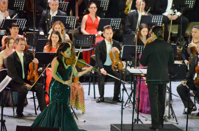 Recenzia concertului Sarah Chang de la Sala Palatului din Bucureşti - Foto: Valentin Alexandru