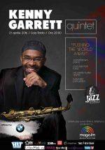 Concert Kenny Garrett Quintet la Sala Radio din Bucureşti