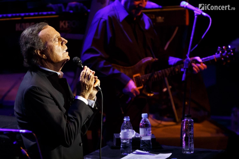 Julio Iglesias în concert la Bucureşti - Foto: Daniel Robert Dinu / iConcert.ro