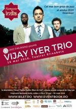 Concert Vijay Iyer Trio la Teatrul Elisabeta din Bucureşti