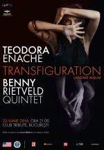Concert Teodora Enache şi Benny Rietveld Quintet în Tribute din Bucureşti