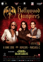 Concert The Hollywood Vampires la Romexpo din Bucureşti