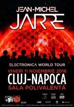 Concert Jean-Michel Jarre la Sala Polivalentă din Cluj-Napoca