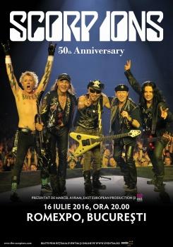 Concert Scorpions la Romexpo din București