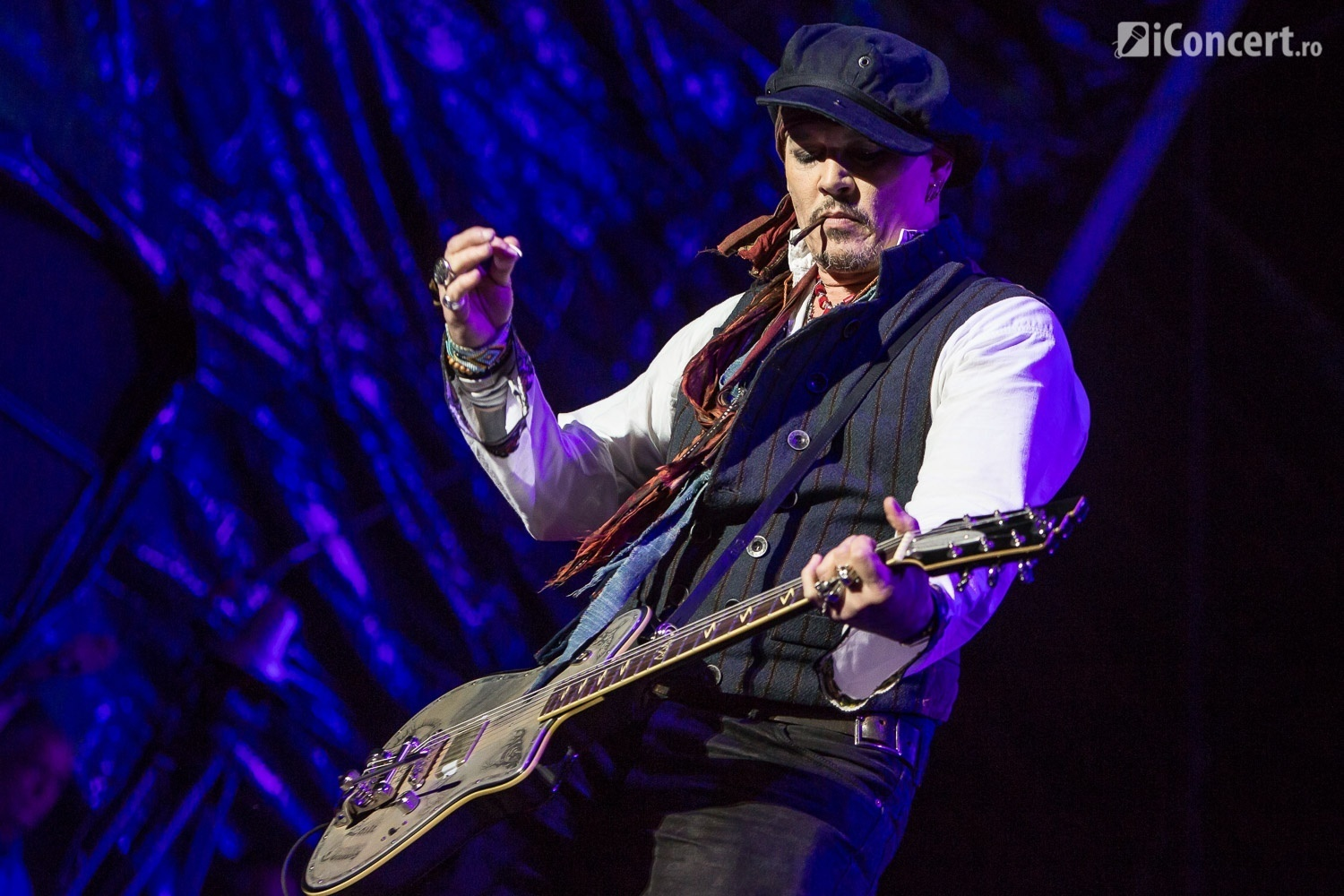 Johnny Depp - The Hollywood Vampires în concert la Bucureşti - Foto: Paul Voicu / iConcert.ro