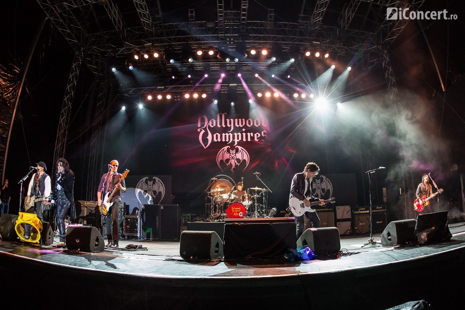 The Hollywood Vampires în concert la Bucureşti - Foto: Paul Voicu / iConcert.ro