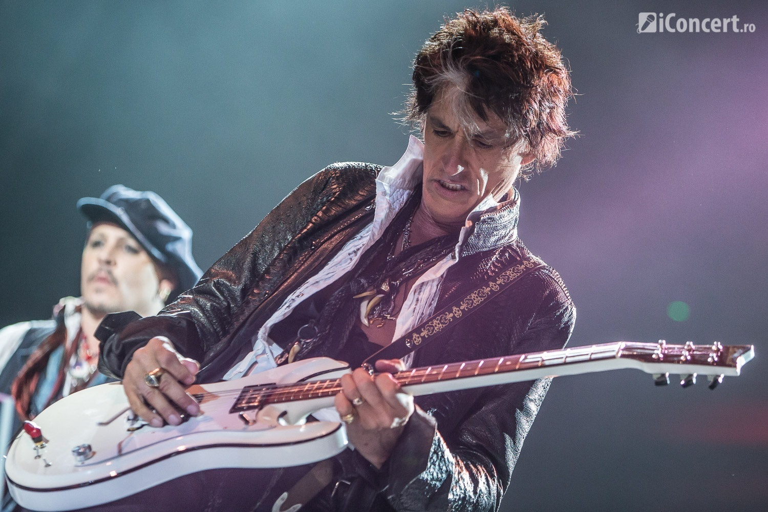 Joe Perry - The Hollywood Vampires în concert la Bucureşti - Foto: Paul Voicu / iConcert.ro