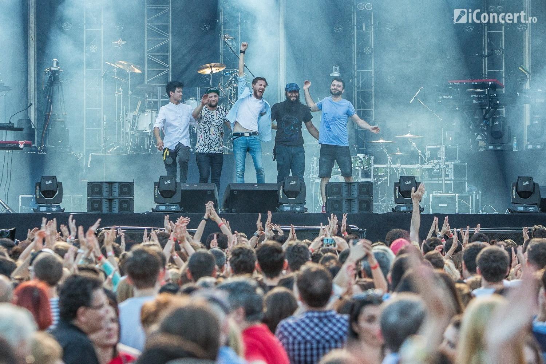 Les Elephants Bizarres în deschiderea trupei Maroon 5 - Foto: Paul Voicu / iConcert.ro
