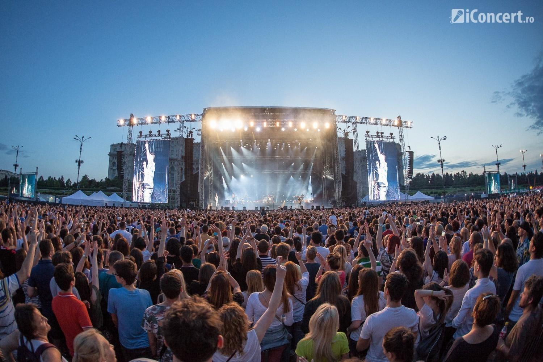 Maroon 5 în concert la Bucureşti - Foto: Paul Voicu / iConcert.ro