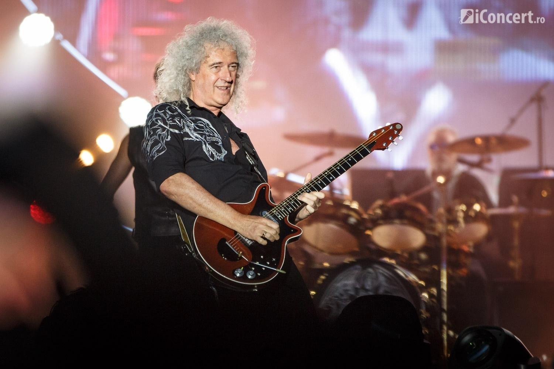 Brian May a oferit publicului un moment solo - Foto: Daniel Robert Dinu / iConcert.ro