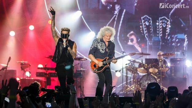 RECENZIE: Queen + Adam Lambert la Bucureşti, într-un show rock'n'roll memorabil (FOTO)