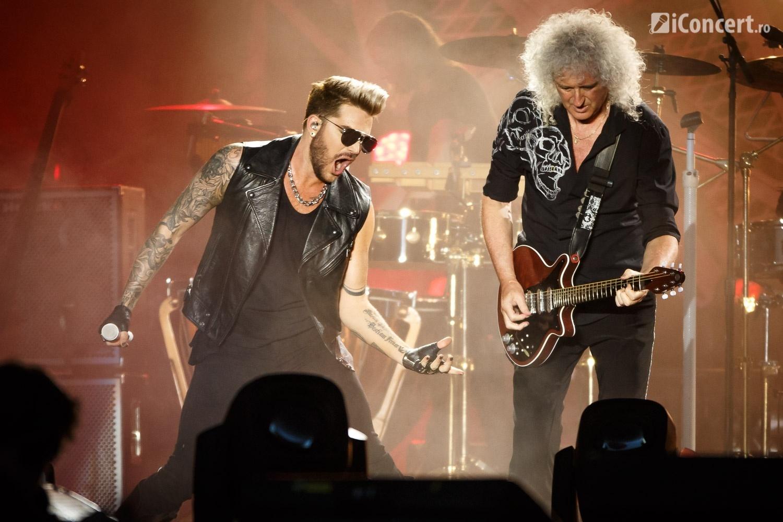 Adam Lambert şi Brian May - Foto: Daniel Robert Dinu / iConcert.ro