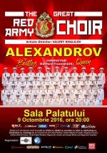 Concert Corul Alexandrov – Red Army Choir la Sala Palatului din Bucureşti