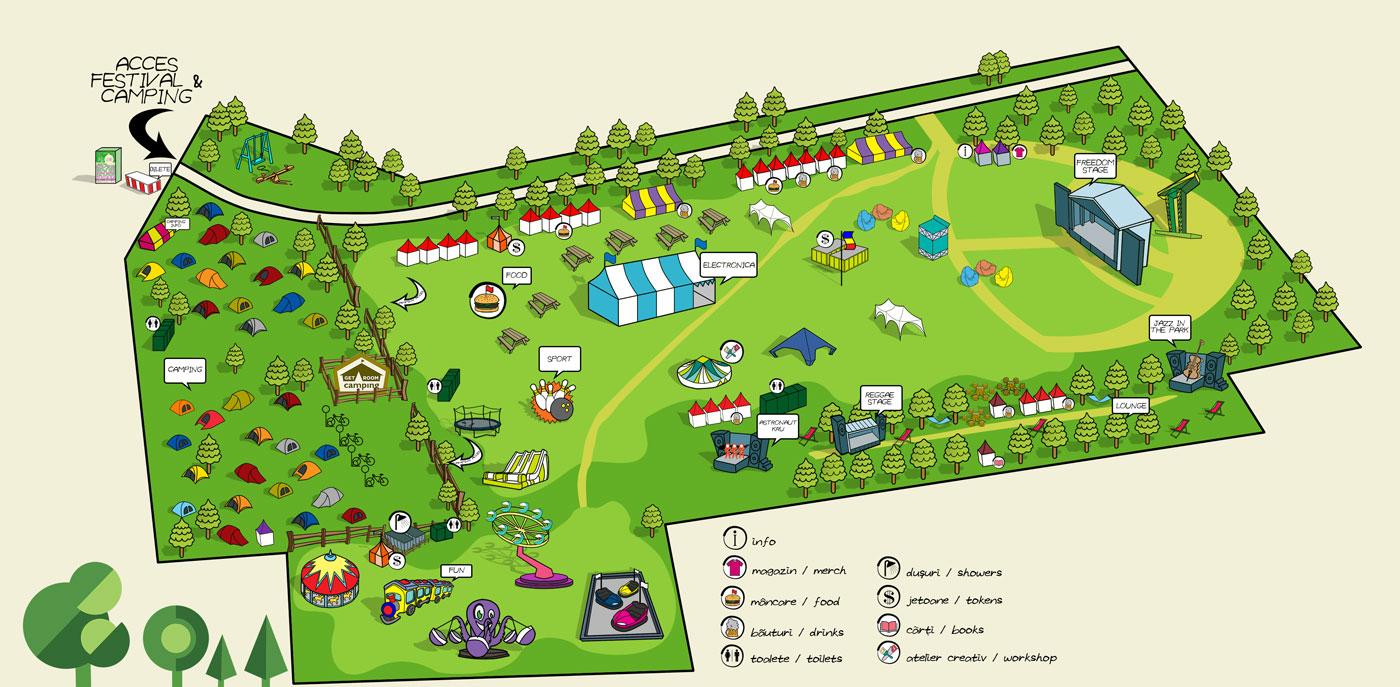 Harta Blaj aLive Festival 2016