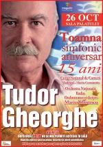 """Concert Tudor Gheorghe – """"Toamna simfonic aniversar"""" la Sala Palatului din Bucureşti"""