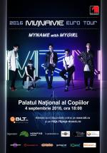 Concert MyName la Palatul Naţional al Copiilor din Bucureşti