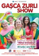 """Gaşca Zurli Show la Centrul Cultural """"Mihai Eminescu"""" din Bucureşti"""