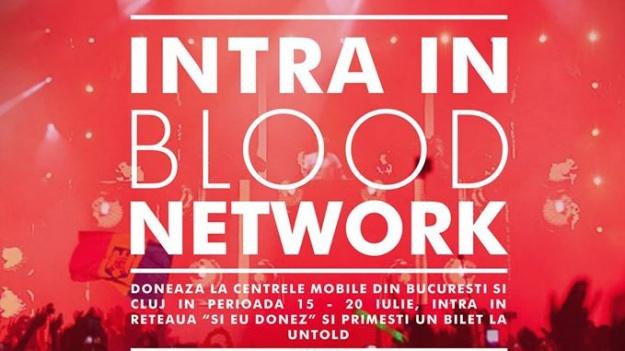 Blood Network şi Voluntar la UNTOLD 2016, printre campaniile festivalului de la Cluj-Napoca