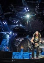 FOTO: Iron Maiden la Rock the City 2016 în Piaţa Constituţiei din Bucureşti