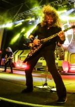 FOTO: Megadeth la Arenele Romane din Bucureşti