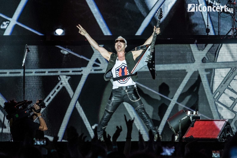Scorpions în concert la Bucureşti - Foto: Paul Voicu