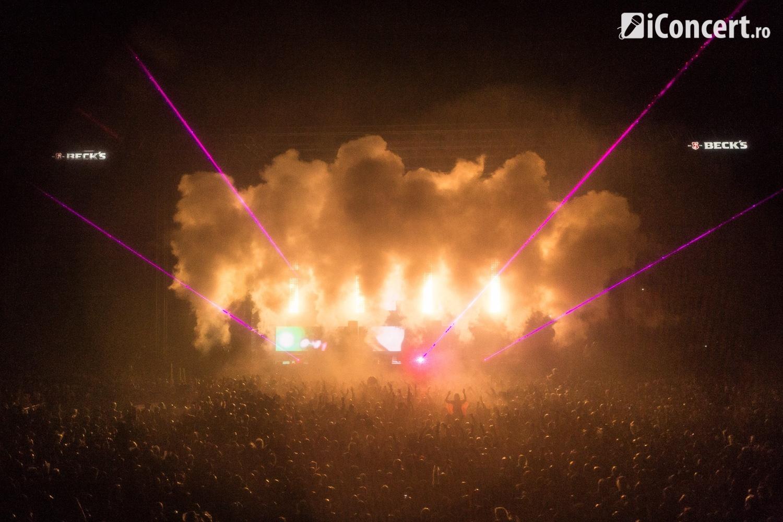 Skrillex în faţa a 33000 de fani - Foto: Daniel Robert Dinu / iConcert.ro