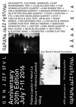 Gărâna Jazz Festival 2016