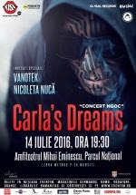 """Concert Carla's Dreams la Centrul Cultural """"Mihai Eminescu"""" din Bucureşti"""