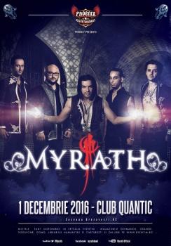 Concert Myrath în clubul Quantic din Bucureşti