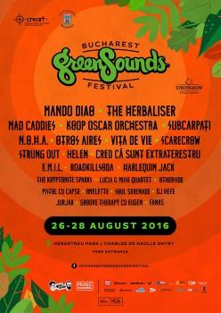 Bucharest GreenSounds Festival 2016